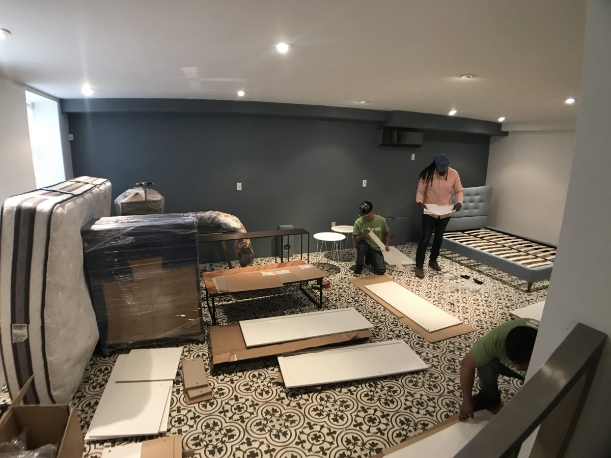 furniture assembly needs project management