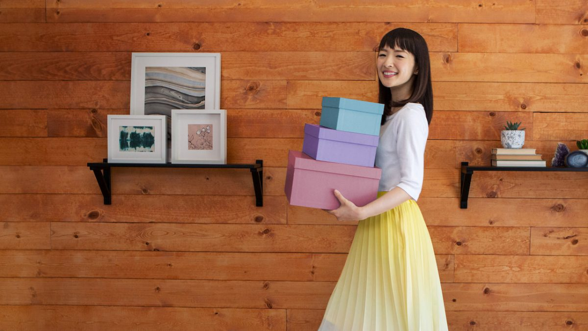 Netflix - Tidying up with Marie Kondo